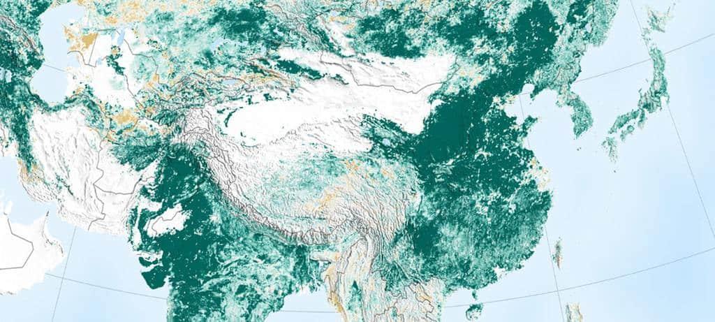 美国航空航天局地球观测站图片