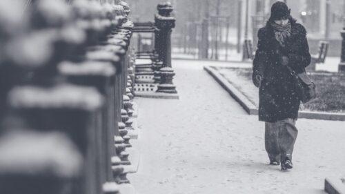 寒冷的冬天