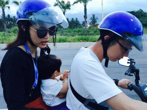 我们在台湾骑车